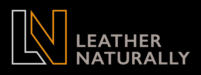 Leather Naturally logo (landscape)